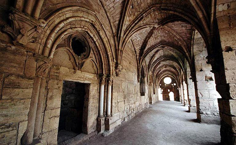 Inside Krak des Chevaliers castle