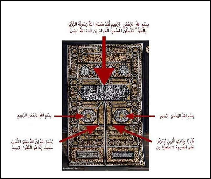 Ka'bah door inscription