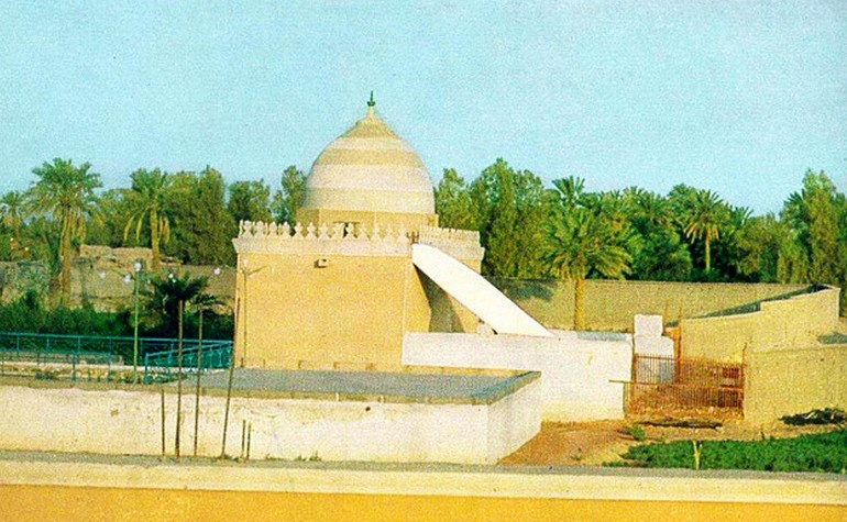 Historic photo of Masjid Jummah
