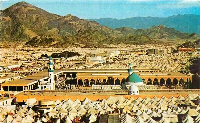 Historic photo of Masjid Khayf