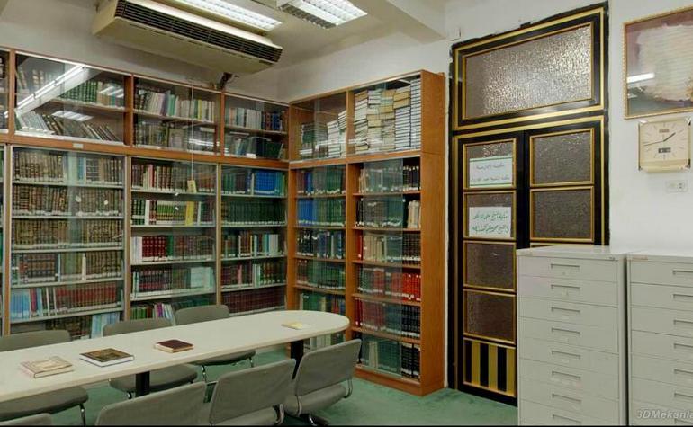Interior of the library (1) - Photo: 3DMekanlar.com