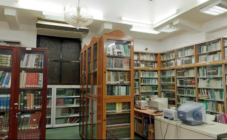 Interior of the library (4) - Photo: 3DMekanlar.com