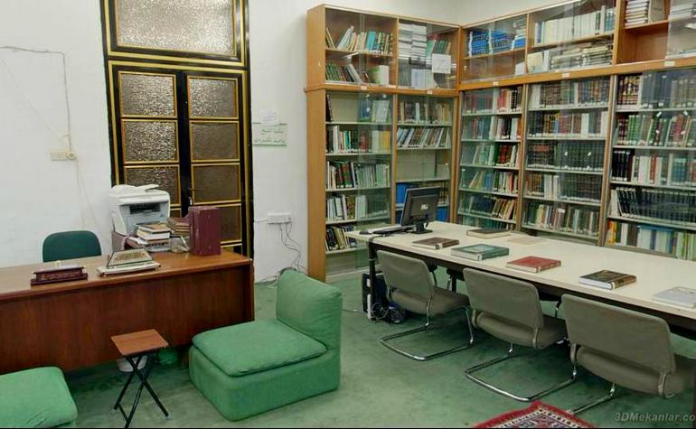 Interior of the library (2) - Photo: 3DMekanlar.com