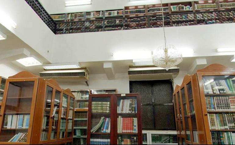 Interior of the library (3) - Photo: 3DMekanlar.com