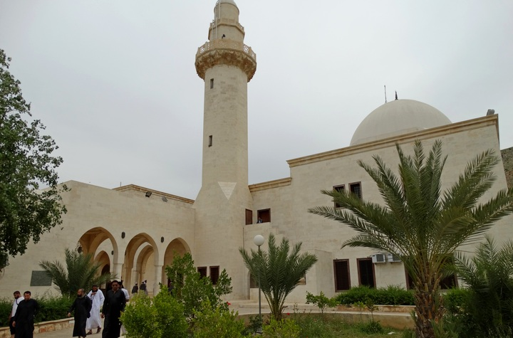 Exterior of the mosque where Prophet Shoayb (عليه السلام) is buried