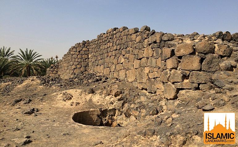 Well outside the Fort of Ka'b bin Ashraf
