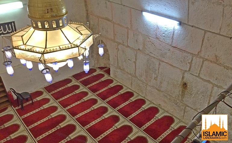 Inside Masjid Buraq