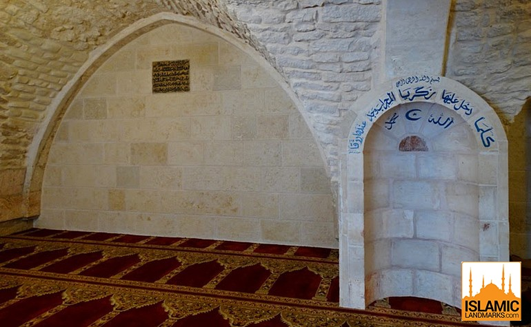 Interior of the Mosque of Umar