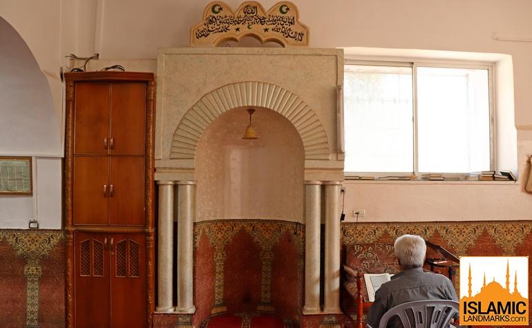 Mehrab in the mosque of Yunus (عليه السلام).