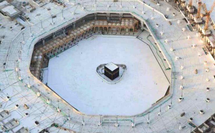The Mataf of Masjid al-Haram