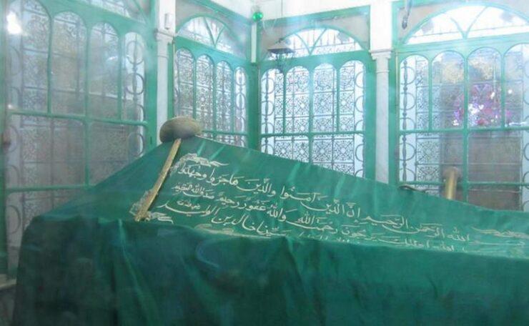 Grave of Khalid bin Waleed ra