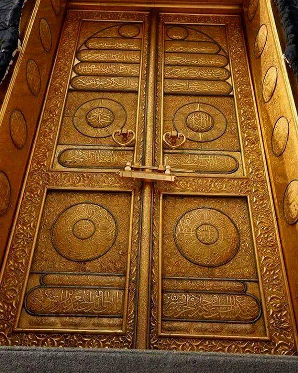 The door of the Ka'bah – Photo: makkah_by_wehab (Instagram)
