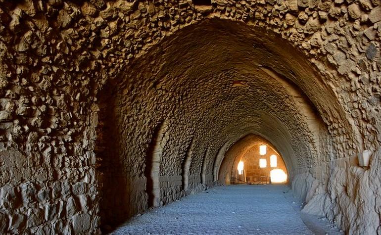 Interior of Kerak castle – Photo: nuriadiazmaso