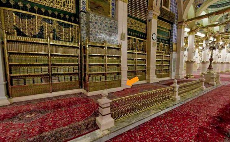 Mehrab-e-Tahajjud in Masjid-e-Nabwi