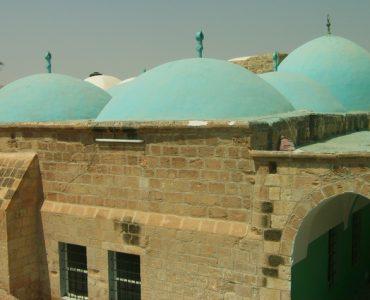 Exterior of the Maqam of Musa (عليه السلام)