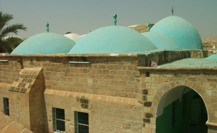 Exterior of the Maqam of Musa (عليه السلام)