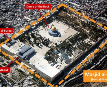 The Masjid al-Aqsa compound