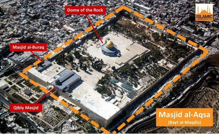 The Masjid al-Aqsa compound
