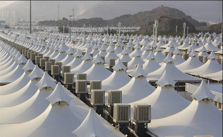 Tents in Mina – Photo: Akram S Abrahe