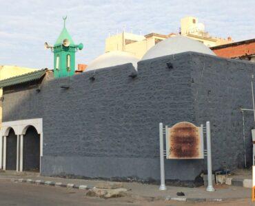 Exterior of Masjid Shaikhain