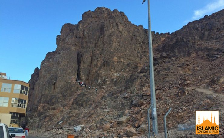 The cave of Uhud
