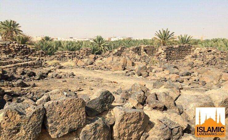 Ruins of the fort of Ka'b bin Ashraf