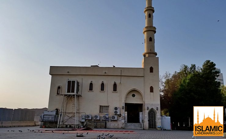 Front view of Masjid Abuzar Ghifari