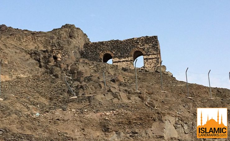 The ruins of Masjid Bani Ghifar