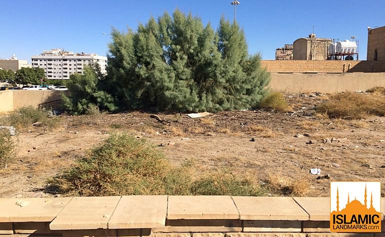 Burial site of Abdullah bin Abbas (رضي الله عنه)