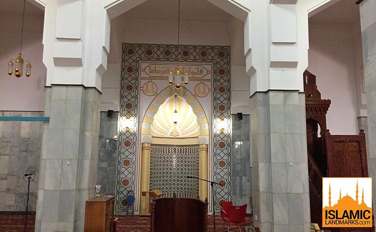 Mehrab of Masjid Abdullah bin Abbas