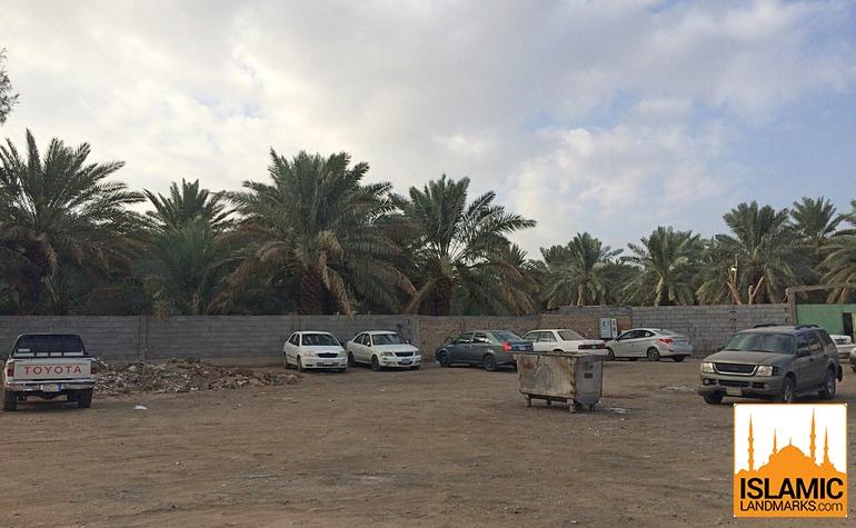 Outside view of the Salman Farsi garden