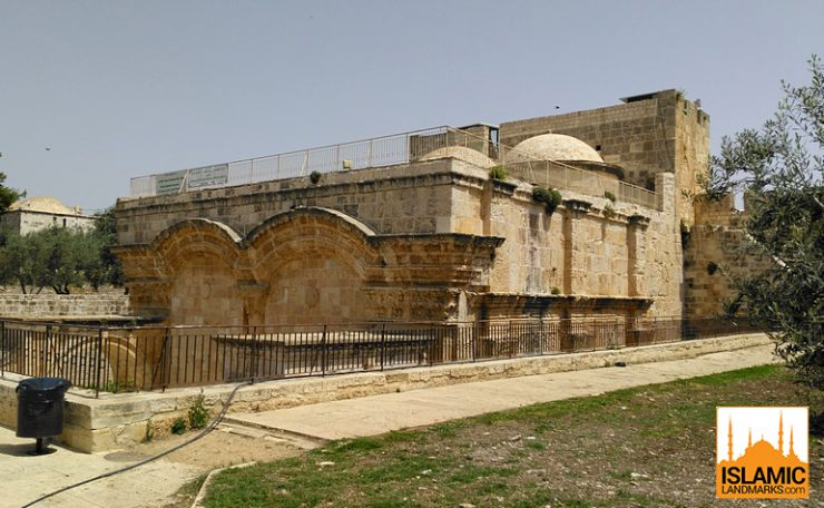 Residence of Imam Ghazali seen from within the Aqsa compound