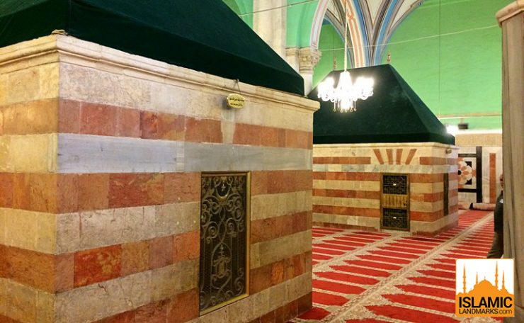 Tomb of Ishaq (عليه السلام) and Rifqah (upon her be peace)