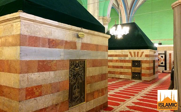 tomb of prophet ishaq upon him be peace islamic landmarks