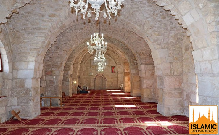 Interior of the Khanqah of Salahuddin Ayyubi