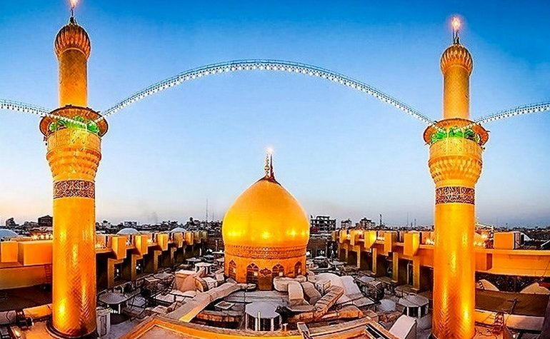 Hudaybiah: Dome above the shrine of Hussain (may Allah be pleased with him) – Photo: Wikipedia Commons