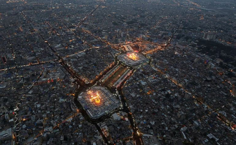 Hudaybiah: Karbala by night