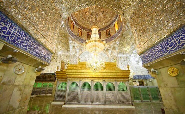 Shrine of Hussain (رضي الله عنه)