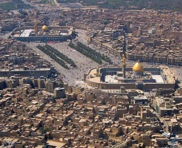 Site of Karbala in Iraq