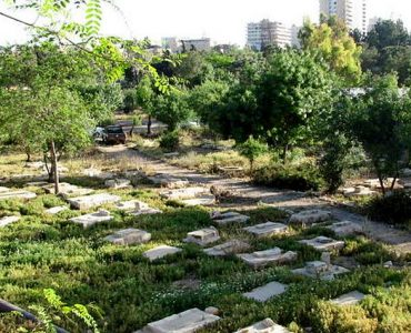 View of Mamilla cemetery