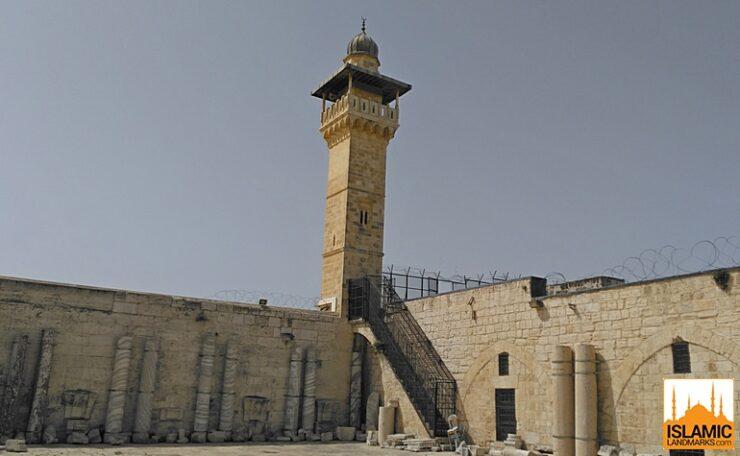 Moroccan Gate minaret