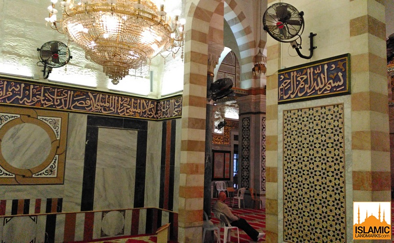 View from inside the Mosque of the Forty Martyrs