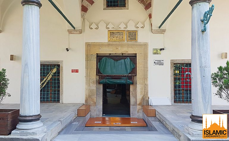Entrance to the Little Hagia Sophia mosque