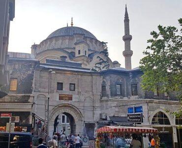 Exterior view of Nuruosmaniye mosque