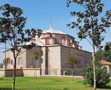 External view of the Little Hagia Sophia mosque