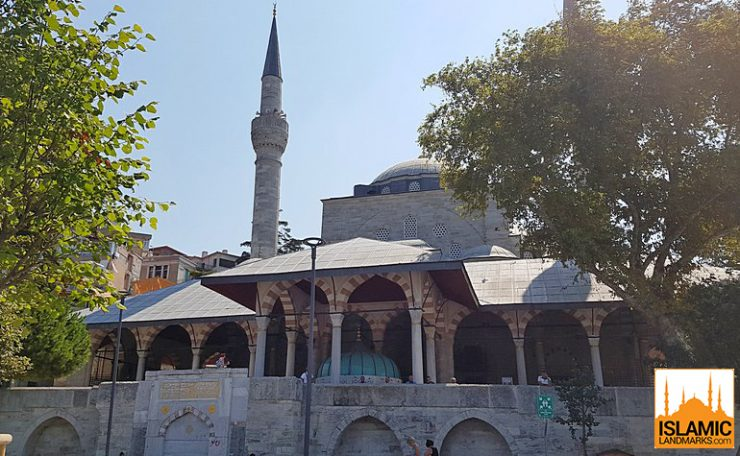 Front view of the Asian Mihrimah mosque