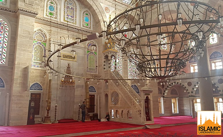 Mehrab and mimbar of the European Mihrimah mosque