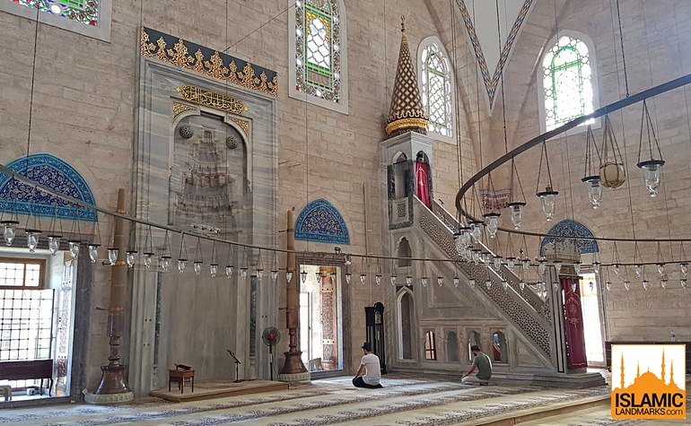 Mimbar and mehrab of the Yavuz Selim mosque