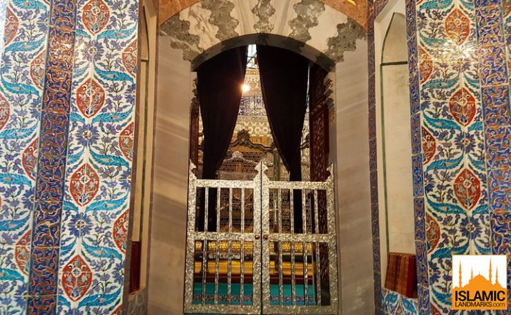 The tomb of Abu Ayyub Ansari (رضي الله عنه)