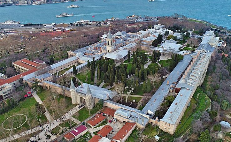 Plan view of Topkapi Palace